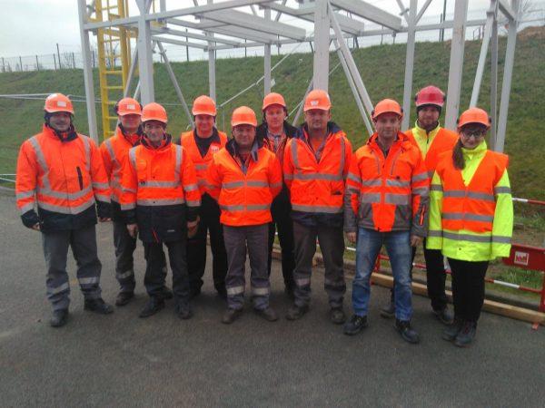 Udział w 9-miesięcznym projekcie rozbudowy huty szkła, Chemillé-Melay, 2019 r.